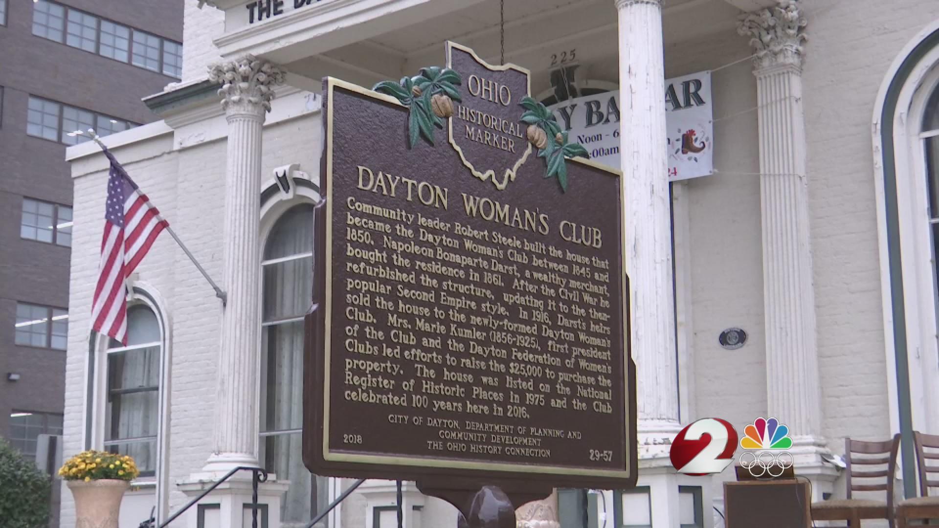 Dayton Woman's Club receives historical marker