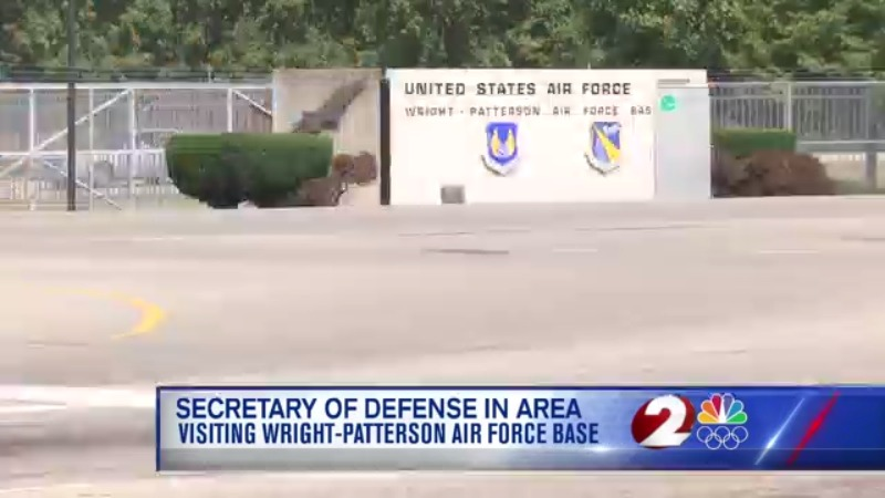 Secretary of Defense in area for WPAFB visit