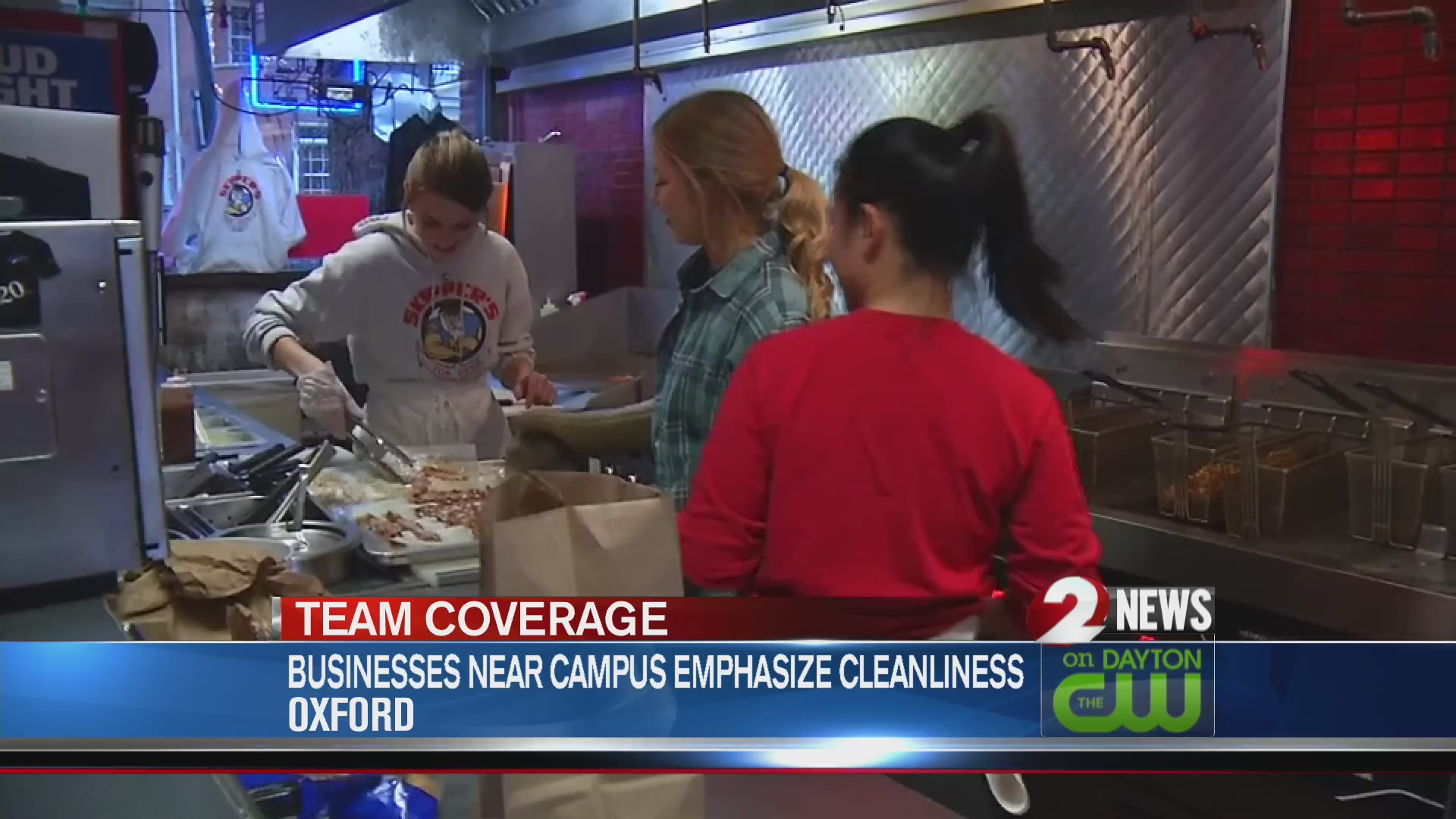 Business near campus emphasize cleanliness