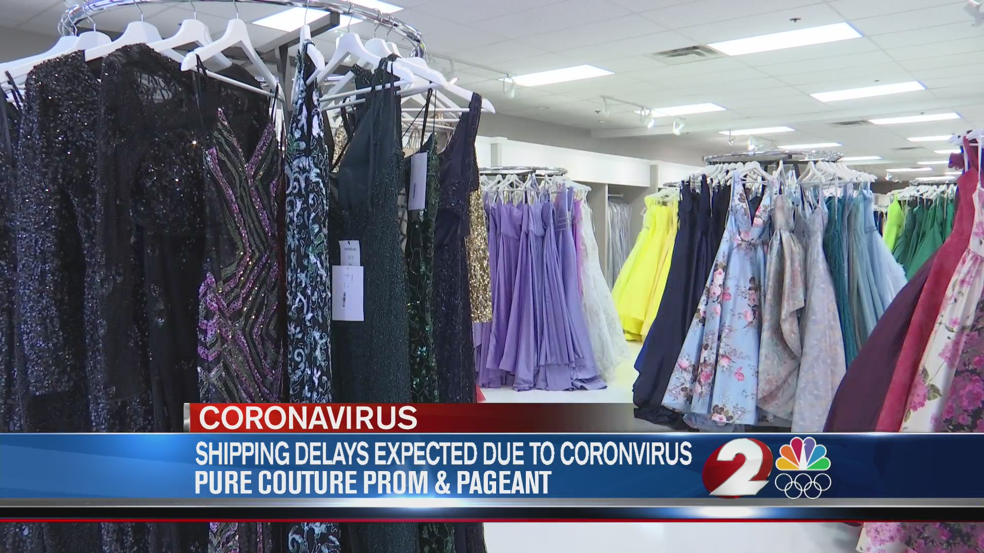 Shipping delays expected due to coronavirus