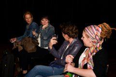Tessa Kingma, Monique Hamers, Heleen Hendriks en Melanie Pekel