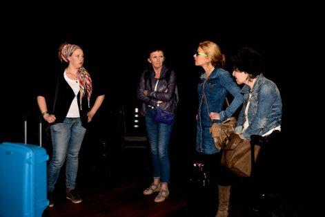 Melanie Pekel, Heleen Hendriks, Tessa Kingma en Monique Hamers