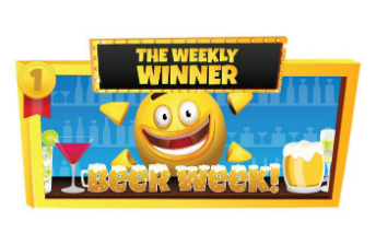 Costa Bingo beer week banner