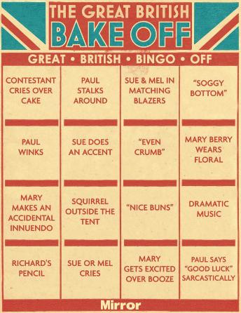 The GBB Bingo