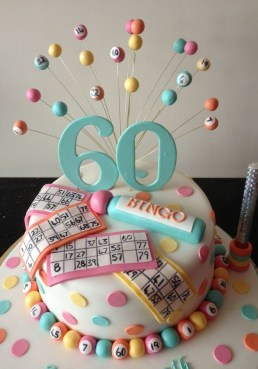 Bingo Birthday Cake 2