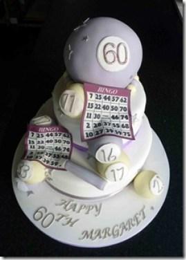 Bingo Birthday Cake 1