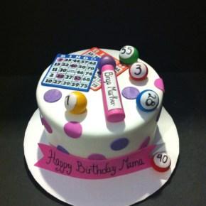 Bingo Birthday Cake 4