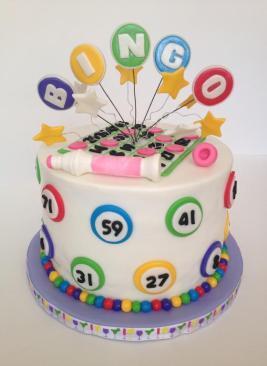 Bingo Birthday Cake 3