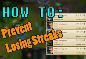 Prevent Losing Streaks Tips