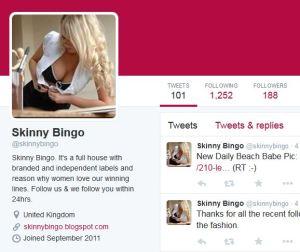 Skinny Bingo Twitter