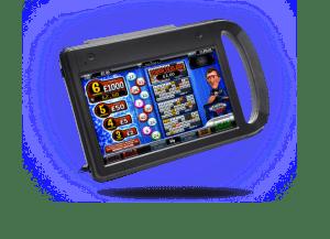 Handheld bingo device