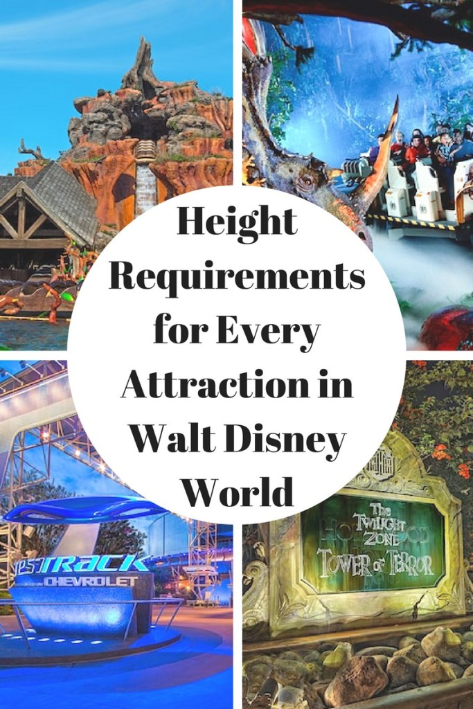Height Requirements for Every Attraction in Walt Disney ...