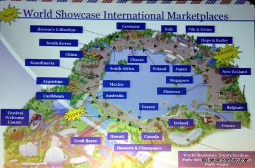 Epcot World Showcase Promenade