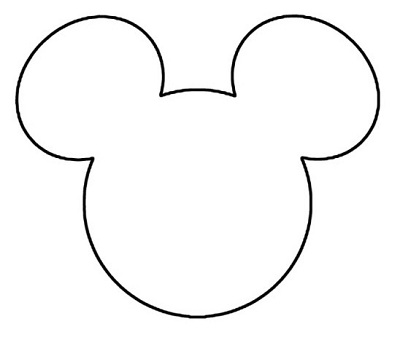 It's just a photo of Witty Mickey Mouse Head Template Printable