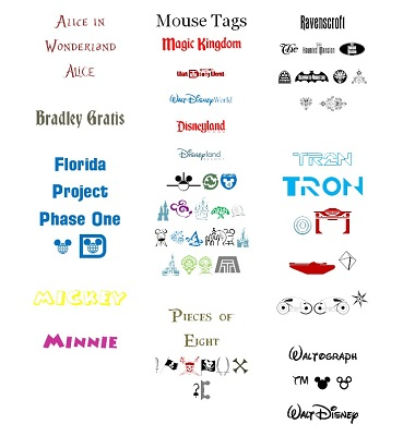 Practically Perfect DISNEY Techniques: Disney Themed Fonts ... on
