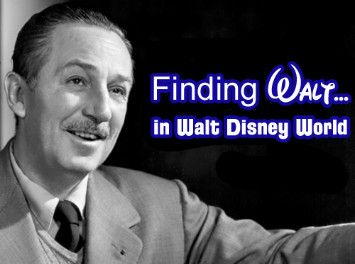Walt Disney in Walt Disney World