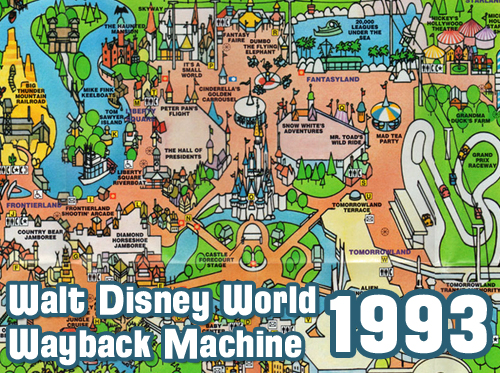 Wdw Radio Show 309 Walt Disney World Wayback Machine To 1993