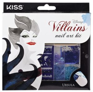 Kiss Disney Villains Nail Art Kit Ursula