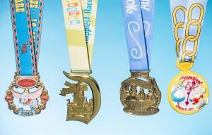 Dumbo Double Dare Weekend 2013 medals