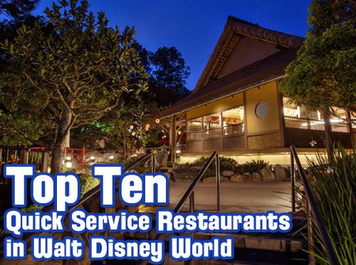 Wdw Radio Show 364 Top Ten Quick Service Restaurants In