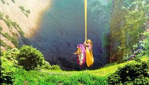 Rapunzel Leaves Tower