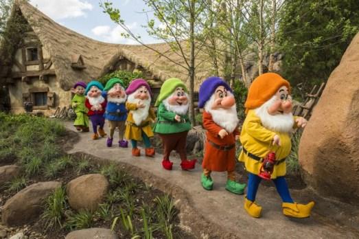 seven dwarfs - disney
