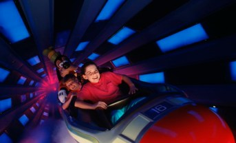 space mountain a - disney