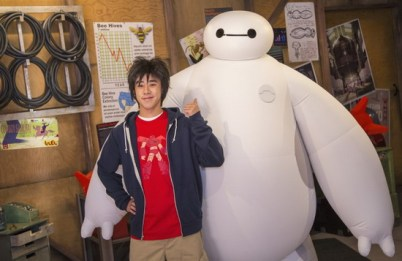 Hiro and Baymax - disney