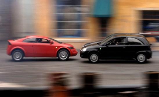 car chase - disney