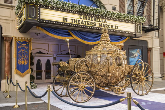 Cinderella's coach - disney
