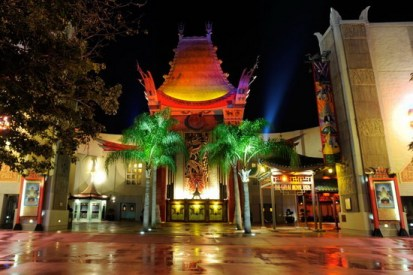 Exterior of The Great Movie Ride - copyright Disney