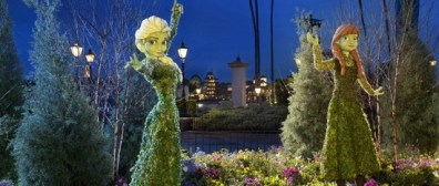 frozen topiary - disney