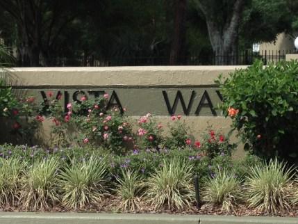 Vista Way. Photo provided by: Matthew Whisante.