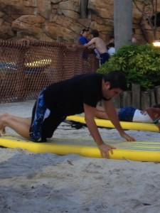 Lou on sand 2