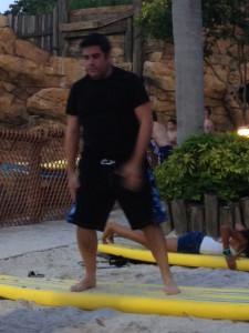 Lou on sand 3