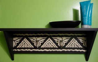 polynesian shelf - kf