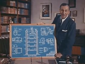 Multiplane-Camera with Walt-Disney