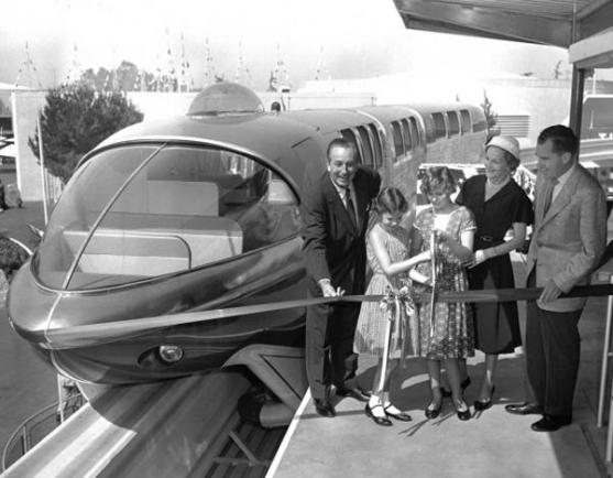 Disneyland monorail dedication - disney