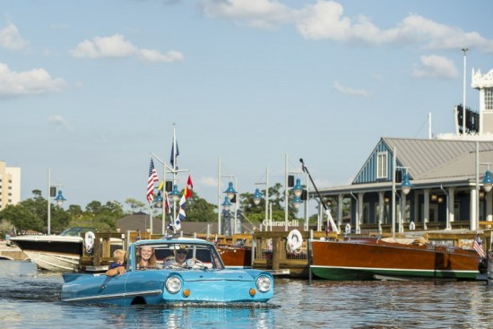 boathouse amphicar - disney