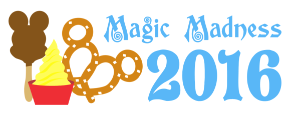 Magic Madness 2016 Logo - Solid Back