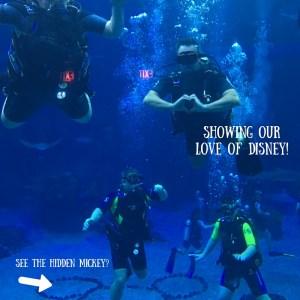 Epcot-Divequest-Disney-Scuba-Husband-Wife-Love-WDWRADIO-Kristin-Fuhrmann-Simmons-Hidden-Mickey
