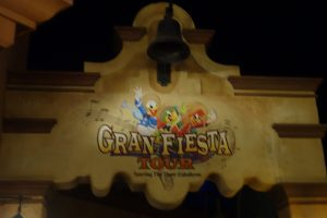 Mexico Gran Fiesta Tour sign