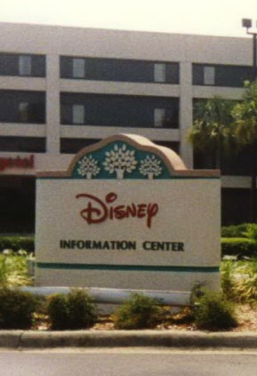 disney information center sign - kf