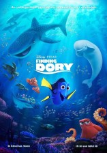 Finding Dory International poster Disney