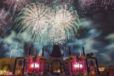 Star Wars fireworks - disney