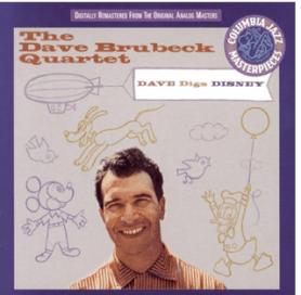 Dave Digs Disney - The Dave Brubeck Quartet cd cover 2