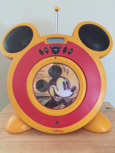 Mickey Mouse Disney CD player - Andrew Prince