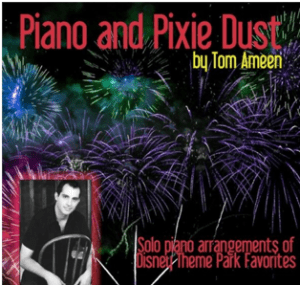 Piano and Pixie Dust by Tom Ameen cd cover