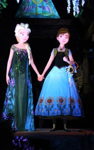 Frozen Ever After Anna and Elsa