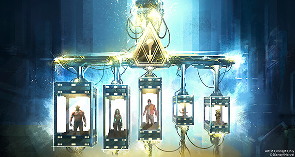 Guardians of the Galaxy: Mission Breakout concept art